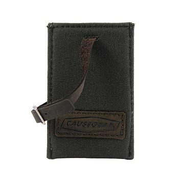 LUGGAGE TAG | Charcoal Canvas