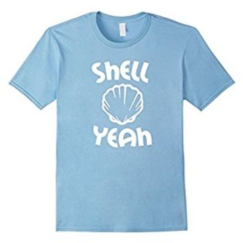 Shell Yeah T-Shirt, Funny Vacation Beach Pineapple Vibes