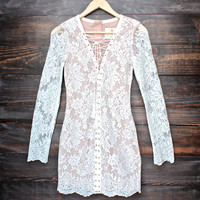 The Jetset Diaries the ruins dress - white