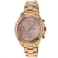 Fossil Dylan Stainless Steel Watch - Rose Ch2826