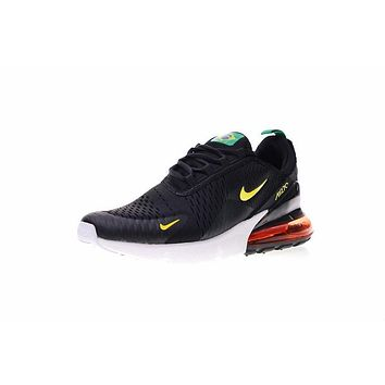 Fila World Cup Nike Air Max 270 Brazil Black Green Running Shoes Sneaker Ah8050-112