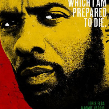 Nelson Mandela Long Walk to Freedom Idris Elba Film Poster 11x17