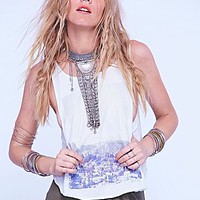 We The Free Womens We The Free Star Struck Tank - Ivory
