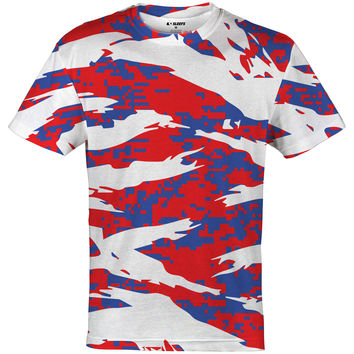Digital ripped camo america jersey