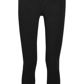 L'Agence - The Margot cropped high-rise skinny jeans