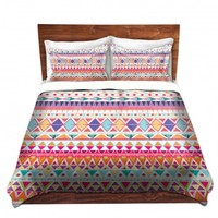 DiaNoche Designs Unique Decorative Designer Duvet Covers and Shams | Nika Martinez's Carnival