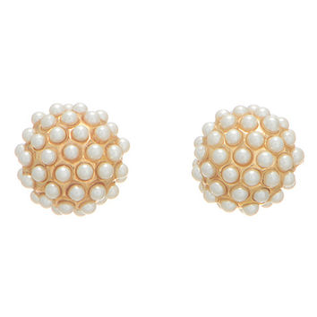 Felicity Pearl Cluster Studs