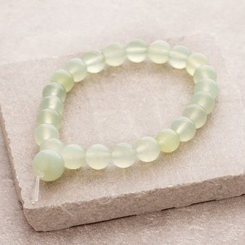 High-Energy New Jade Wrist Mala