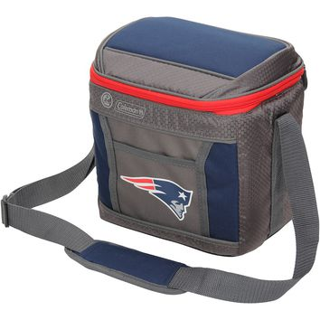 New England Patriots Coleman 9-Can 24-Hour Soft-Sided Cooler