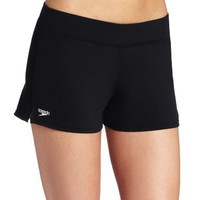 Speedo Women's Swim Short Black Board Shorts 14 X 31 X 32