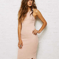 Don't Ask Why Ribbed Bodycon Dress, Just Rosey
