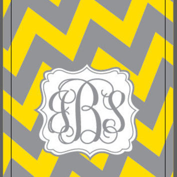 iPhone 4 4S Otterbox Commuter Case Monogrammed Chevron