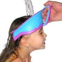 Lil Rinser Splashguard in Blue and Pink:Amazon:Baby