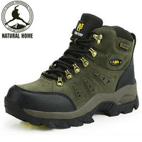 2014 new style hiking shoes men breathable outdoor anti-skid trekking boots high quality walking shoes
