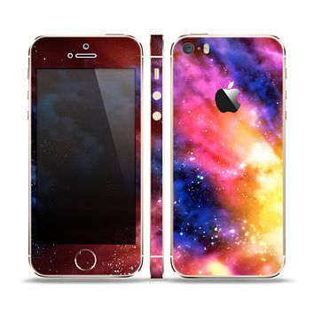 The Super Nova Noen Explosion Skin Set for the Apple iPhone 5s