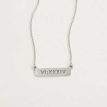 JAECI PRAY MORE WORRY LESS NECKLACE