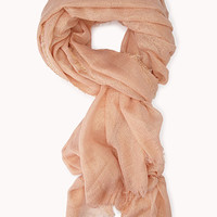 Touch-Of-Glam Metallic Scarf