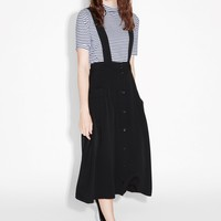 Monki | View all new | A-line skirt with suspenders