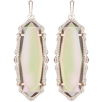Francie Earrings in Iridescent Peach - Kendra Scott Jewelry