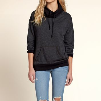 995c40bf3239 Colorblock Cowl Neck Sweatshirt from Hollister Co.