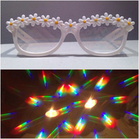 Daisy Diffraction Rave Glasses