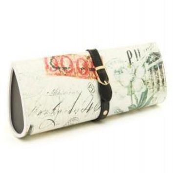 Magazine Print Hard Cover Clutch