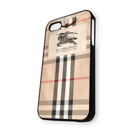 Burberry Pattern Design iPhone 4/4S Case