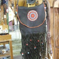 Beaded Possibles Bag | nanations - Leather Craft on ArtFire