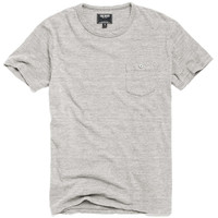 Classic Button Pocket T-Shirt in Eggshell Mix