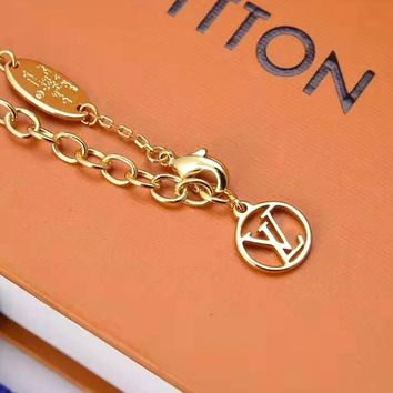 Louis Vuitton LV Stylish Women Necklace Jewelry Accessories