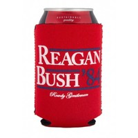 Reagan Bush '84 Can Holder in Red by Rowdy Gentleman