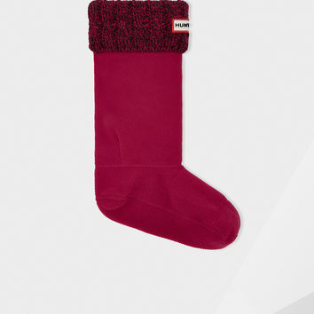 Hunter Original Six-Stitch Cable Boot Socks