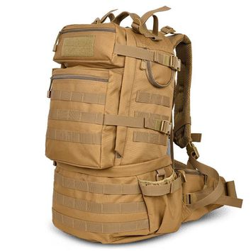 Military Army Backpack 50L Nylon Water-proof Camp Hike Trekking Camouflage Backpacks Large-capacity Men Bag 2016