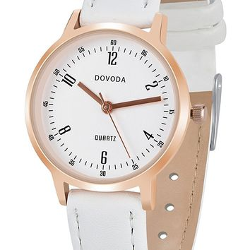 DOVODA Womens Watches Fashion Classic Wristwatches Small Face Dress Watch