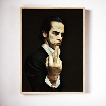 Nick Cave Poster Nick Cave Art Painting Print