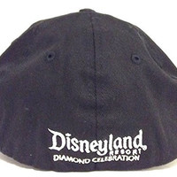 Disneyland Limited Edition 60th Anniversary Diamond Celebration D 60 Adult Baseball Hat Cap