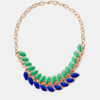 Athens Colorblock Necklace