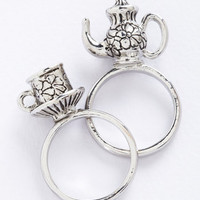 Fairytale Crumpet Course Ring Set by ModCloth