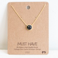 Must Have Reversible Stone Necklace