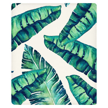 Tropical Glam Fleece Throw
