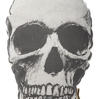 THE RISE AND FALL The Skull Pillow in White : Karmaloop.com - Global Concrete Culture
