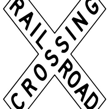 Train Sign Image, RR Crossing Poster, RR Sign Image,rr Wall Art, rr Print,Kids Room Print,RR Wall Décor,Kids Room,Baby Room,Kids Room Poster