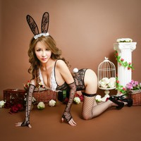 Hot Deal On Sale Cute Rabbit Set Cosplay Sexy Underwear Exotic Lingerie [6595334211]