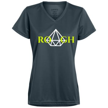 DIAMOND IN THE ROUGH V2 Ladies' Wicking T-Shirt