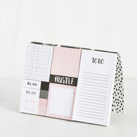 Bragging Writes Sticky Note Set | Mod Retro Vintage Desk Accessories | ModCloth.com