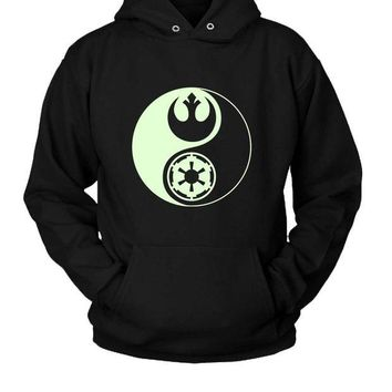 DCCK7H3 Star Wars Yin Yang Hoodie Two Sided