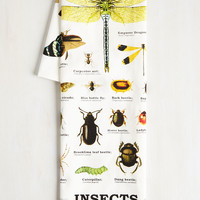 Insect-or Gadget Tea Towel | Mod Retro Vintage Kitchen | ModCloth.com