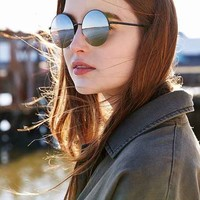 Famous Metal Round Sunglasses