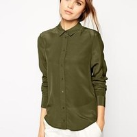 ASOS | ASOS Premium Silk Blouse at ASOS