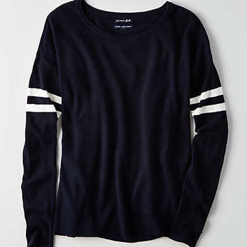 AEO Ahh-mazingly Soft Easy Sweater, Navy